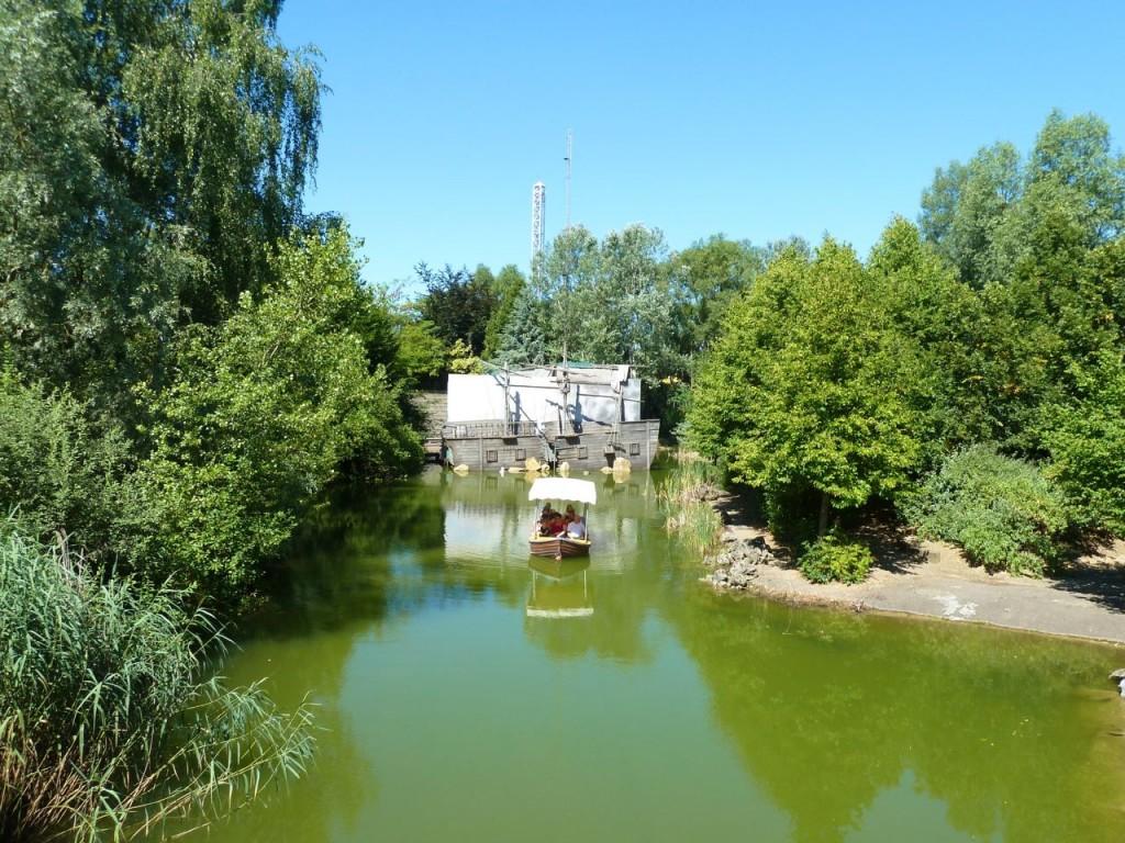 Walygator - promenade en barque