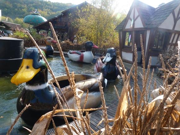 La Ronde des canards, pour les parkfans en culotte courte.