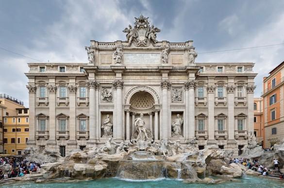 La fontaine de Trevi, ambiance Dolce Vita. (photo CC0, aesuk80asc, Pixabay)