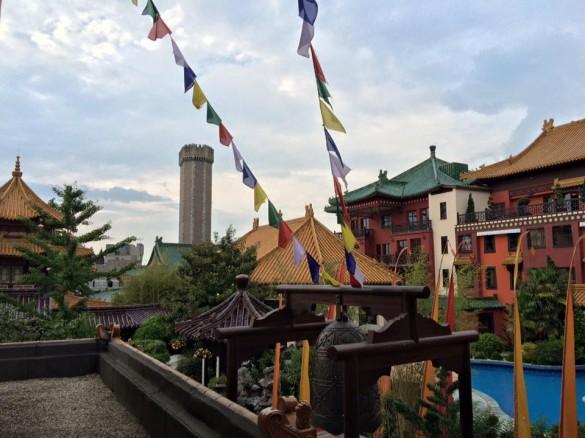 Parcs Passion à Phantasialand 2016 - l'hôtel Ling Bao et Mystery Castle