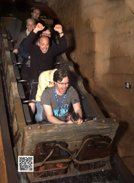Parcs Passion à Phantasialand 2016 - photo onride dans Chiapas