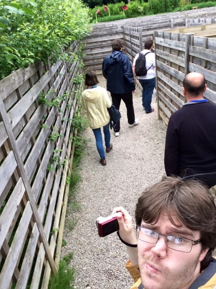 Parcs Passion à Plopsa Coo 2016 - dans le labyrinthe