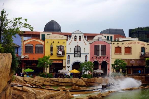 Parcs Passion à Phantasialand 2016 - le splash de Chiapas