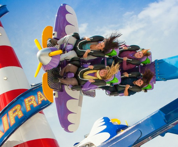 Air Race et ses loopings incessants ! (photo : Zamperla)