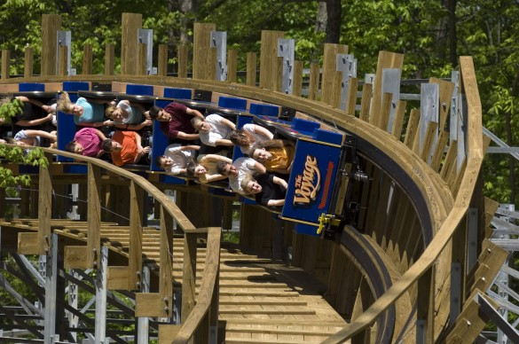 Un virage de Voyage. (photo : Holiday World)