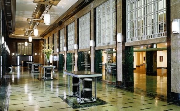 Le Frist Center, habillé de marbre, est installé dans l'ancien bureau de Poste principal de Nashville. (photo : Fristcenter.org)