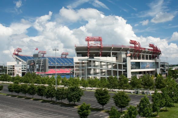 Le Nissan Stadium de Nashville ! (photo : Ryan Kaldari, licence CC, via Wikipedia)