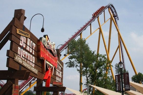 Soixante-cinq mètres… (photo : Kings Island)