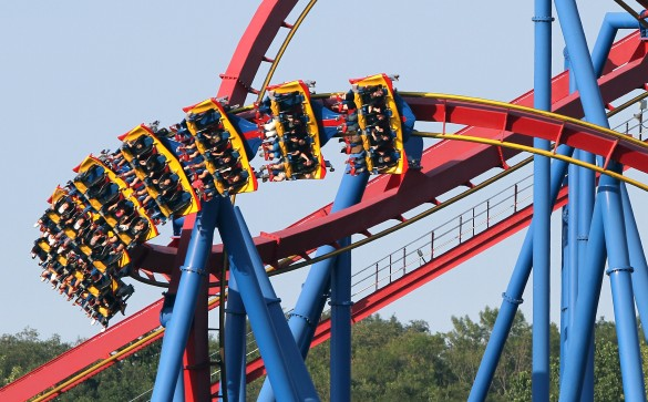 Superman - Ultimate Flight (photo : Six Flags)