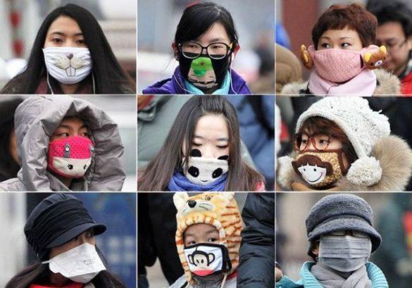 Le port du masque est courant en Asie. Crédit : D.R.